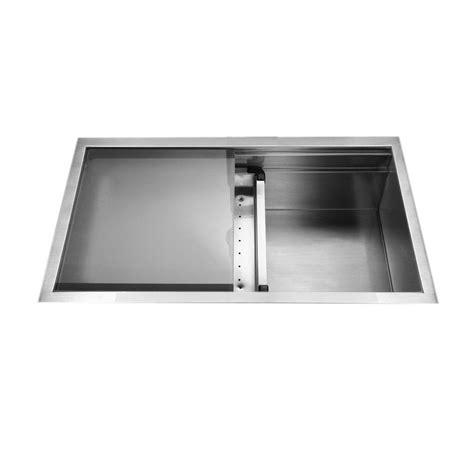 Houzer Kitchen Sink Houzer Novus Series Undermount Stainless Steel 32 In Single Basin Kitchen Sink Nvs 5200 The