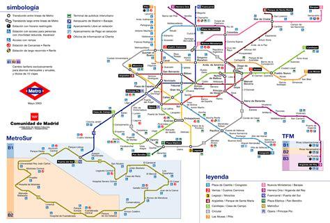 Plano Metro De Madrid | plano del metro de madrid para imprimir mapa