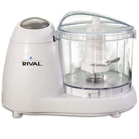 rival fprvmc3000 1 1 2 cup mini chopper white food