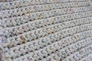 Chain Stitch Rugs Single Crochet Baby Blanket Gretchkal S Yarny Adventures
