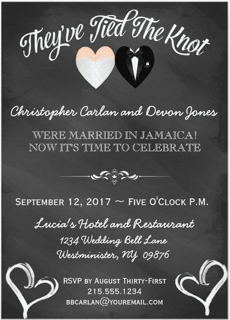 Wedding Celebration Invitations
