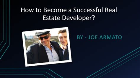 how to become a realtor how to become a successful real estate developer