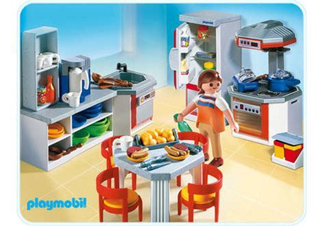 playmobil wohnzimmer kitchen with dinnette set 4283 a playmobil