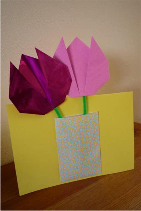 origami falten anleitung fur kinder flower craft