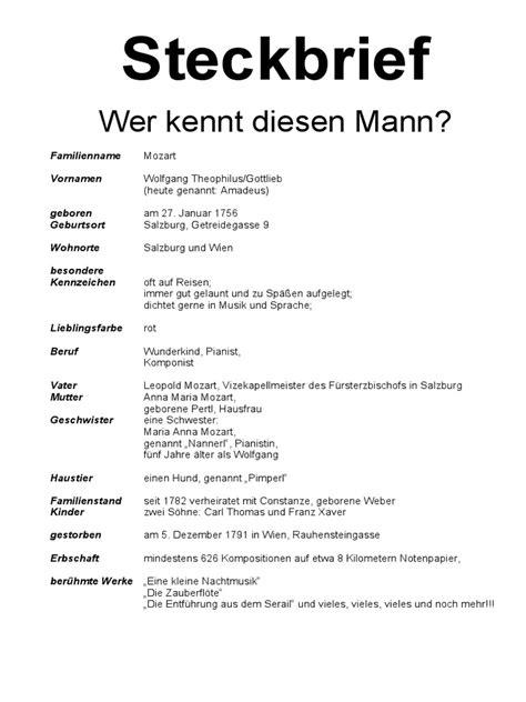 Lebenslauf Joseph Haydn steckbrief mozart