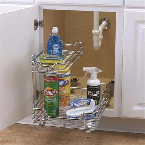 rev a shelf sink pull out chrome caddy cabinet organizers 12 sink sliding organizer