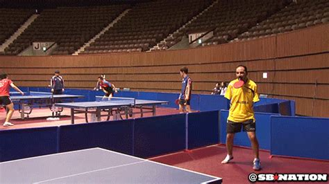 table tennis los angeles ibrahim hamato armless table tennis player is an awesome