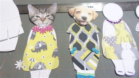 How To Make Fabric Paper Dolls - free printable paper dolls fabric clothing templates
