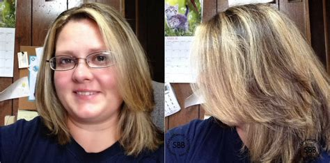 brass banisher before and after blonde hair small budget beauty review l oreal frost and design