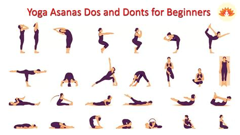yoga tutorial videos for beginners yoga asanas dos and donts for beginners learn yoga rules