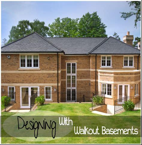 walkout basement designs designing with walkout basements