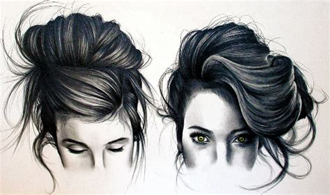 pencil drawing of hair styles of amazing pencil drawings of hair fine art blogger