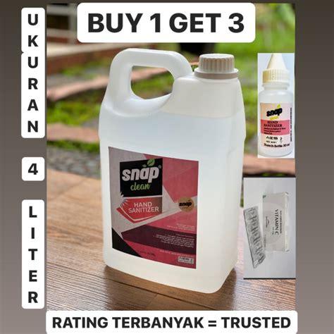 jual hand sanitizer snap clean  liter termurah kota bekasi tokoraii tokopedia