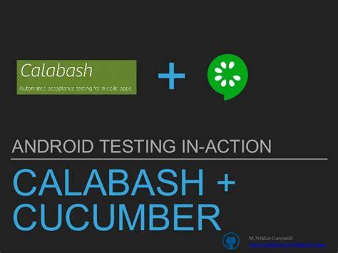 calabash android android testing calabash