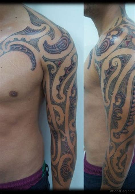 70 fabulous tribal tattoos on sleeve