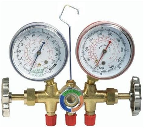 testing manifold set manifold gas manifold set refrigerator hvac tools air conditioning