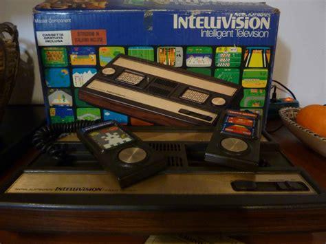 console giochi anni 80 vendo console intellivision anni 80 by mattel cartucce gioco