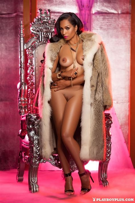 Karlie Redd Nude In Backstage Pass A Tribute To Playboy