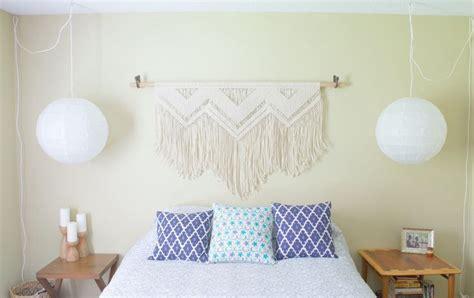 Wall Hanging Headboard Ideas by Handmade Macrame Headboard Wall Hanging Door Thewov Op