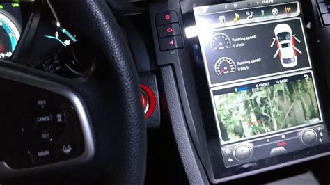 part  vertical screen tesla style android navigation head