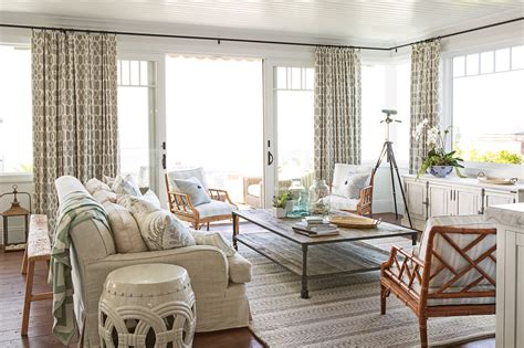 style living room house style coastal decorating tips and tricks
