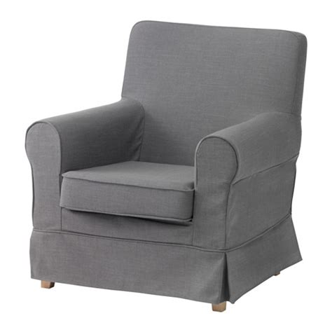 Armchair Covers by Ektorp Jennylund Armchair Cover Nordvalla Gray