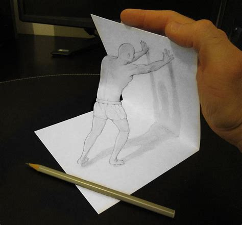 draw 3d 3d pencil drawings by alessandro diddi bored panda