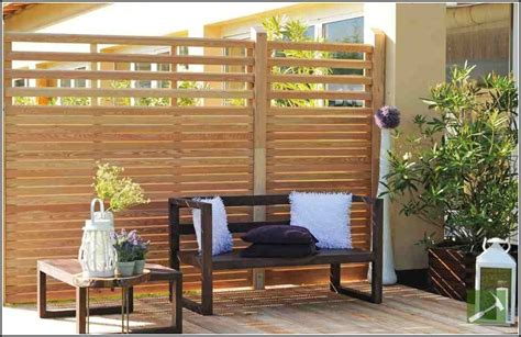 sichtschutz terrasse holz selber bauen terrasse hause