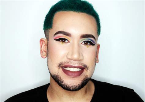 makeup tutorial queer gay pride rainbow look makeup tutorial