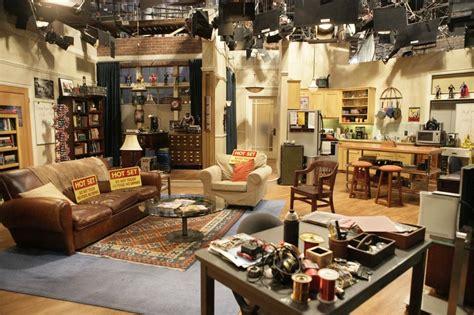 layout of big bang theory apartment the big bang theory set decor sheldon and leanord s