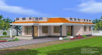 Kerala Style 3 Bedroom Single Floor House Plans by Green Homes 3 Bedroom Single Floor House 1850 Sq Feet