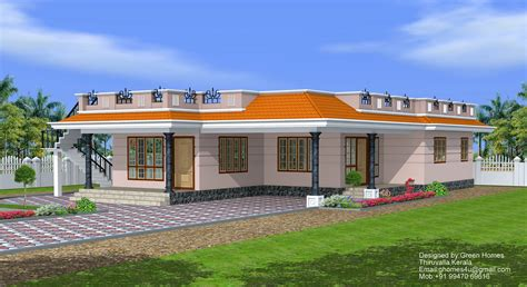 one floor houses green homes 3 bedroom single floor house 1850 sq