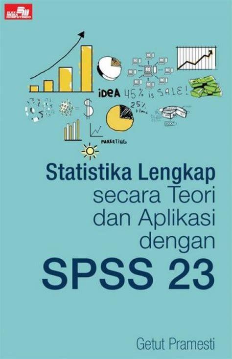 teori desain database bukukita com statistika lengkap secara teori dan