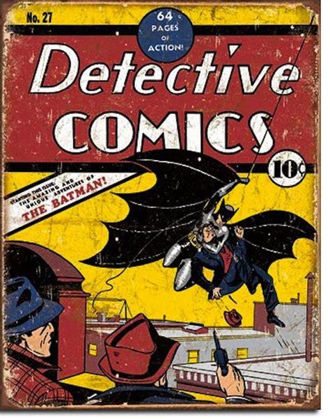 batman detective comics vintage detective comics batman comic book tin sign no 27 may 1939 picture art ebay