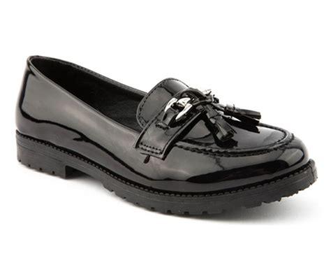 school shoes for size 13 bnib miss riot school black slip on shoes uk size 13