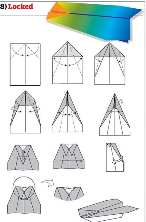 Cool Paper Airplanes To Make - how to make cool paper planes