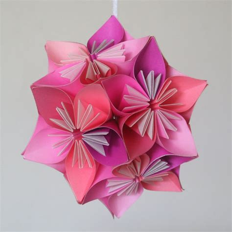 how to make a small origami flower origami flower kusudama www imgkid the image