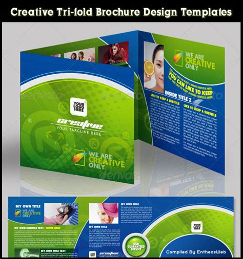 free creative brochure templates free coreldraw brochure template downloads