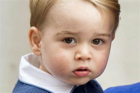 prince george eye color princess s a feisty one kate middleton tells