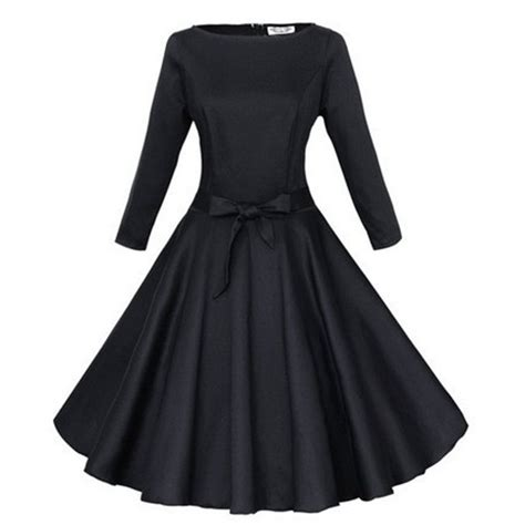 swing kleider vintage 50s vintage sleeve dresses new 2015 autumn winter