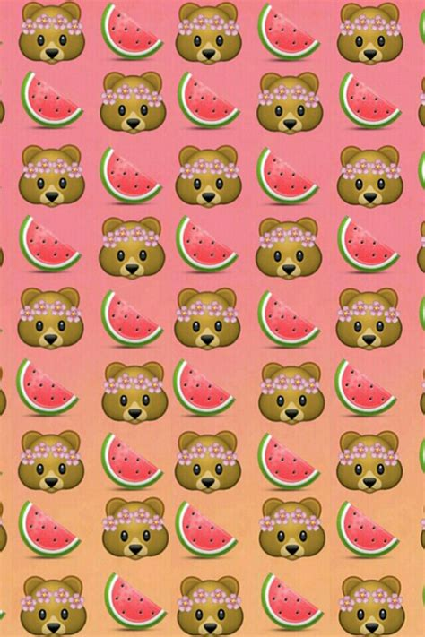 Bear Emoji Wallpaper