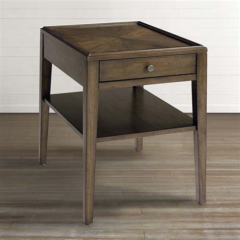 end table ls for living room palisades end table bassett home furnishings