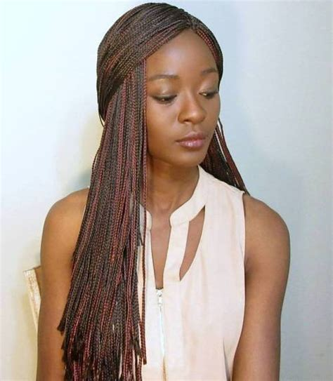 what kind of braids shoyld a darkskin get and color 25 dominant micro braids for your absolute perfect look
