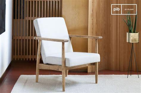 stunning confort sobrit et bois naturel with fauteuil de