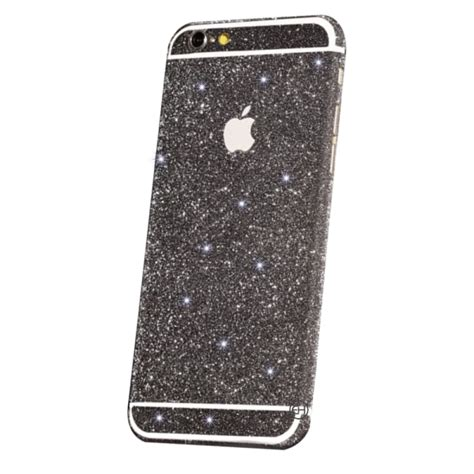 Sticker Gliter Untuk Iphone 6 6 7 Dan 7 glitter sticker zwart iphone 5c exclusievehoesjes eu
