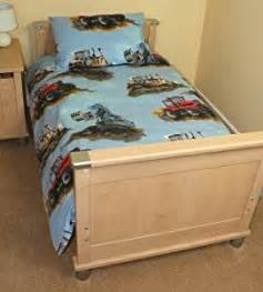 tractor cot bed duvet cover digger tractor cot bed toddler duvet cover 120x150cm