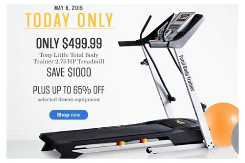sears coupons treadmills
