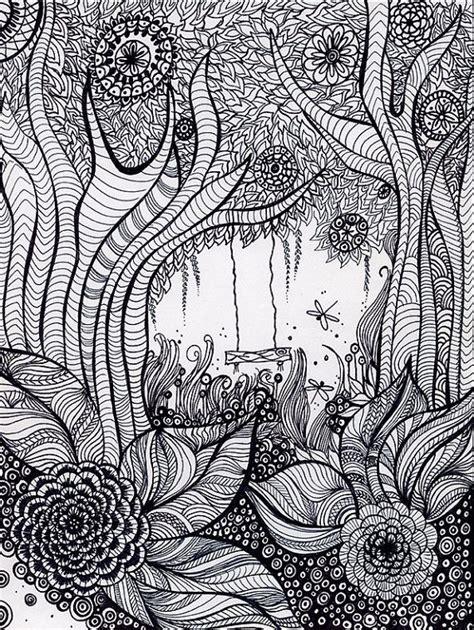 secret garden or enchanted forest coloring book desenhos para colorir e desestressar baixe e imprima a