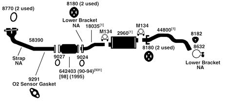 1994 Toyota 4runner Exhaust System Toyota 4runner Intake Manifold Diagram Toyota Free