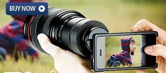 canon does this camera lens to mobile phone camera